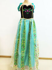 Adult Anna Coronation Dress for Women Green Size Small Medium Large Gown