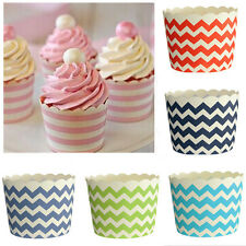 50pcs Muffin Cupcake Case Baking Cup Paper Liner Craft Party Wedding Birthday