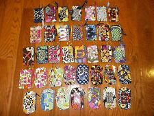 New Vera Bradley Zip ID Case In 35 Patterns ~Free Shipping