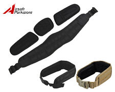 1000D Molle Tactical Military Adjustable Combat Padded War Belt with Padding