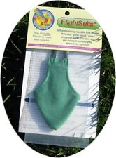 BIRD DIAPER FLIGHT SUIT  KELLY GREEN   FREE LINERS   FREE SHIPPING   LOW PRICE!