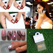 NFC Luck Nail Art Tips DIY Sticker LED Light Flash Phone Scintillation Decal MT