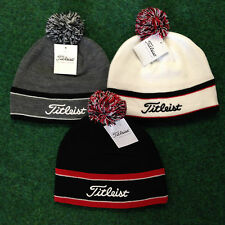TITLEIST WINTER STYLISH POM POM HAT, CHOICE OF COLOURS, CHEAPEST UK PRICE