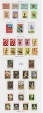 BOLIVIA 1970-80 SURFACE, AIRPOST & POSTAL TAX COLLECTION ON 13 PAGES SCV$214.65