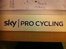 Team Sky Pro Cycling Vinyl Decal, Any Size, Any Color x2