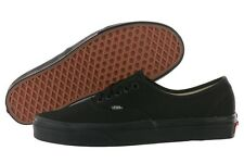 Vans Authentic Era VN-0EE3BKA NIB All Black Canvas Shoes Medium (D, M) Men