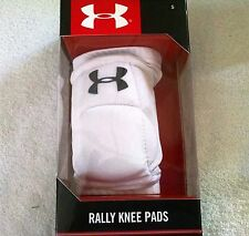 Rally Knee Pads from Under Armour, Size Small & Medium, White - New in Box