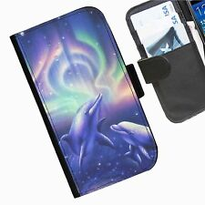Sea Creature Leather wallet phone case for Samsung Galaxy Active Alpha Note