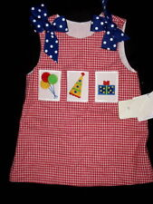 NWT The Bailey Boys 12 18 24 M 2 3 4 2T 3T 4T Birthday Dress Red Gingham Bow
