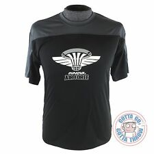 Innova AIR FORCE Rapid-Dry Short Sleeve Disc Golf Jersey - BLACK / GRAY
