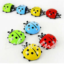 Ladybug Wall Suction Holder Cute Cup Pocket Bathroom Toothbrush Stuff