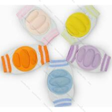 Boy Girl Kid Baby Toddler Mesh Crawling Knee Pads Protective Elbow Knee 5 Colors
