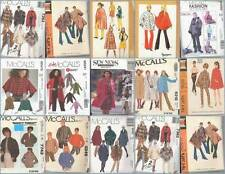 OOP McCalls Sewing Pattern Misses Outerwear McCall's Coats Capes Jackets U Pick