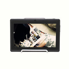 """iRulu 7"""" Dual Core Tablet PC Android 4.2 Jelly Bean 16GB Cameras Black w/ Holder"""