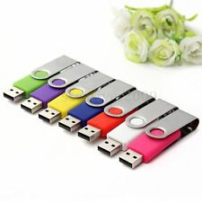 64GB 64G USB 2.0 Swivel Flash Drive Memory Stick Pen Storage Thumb Color U Disk