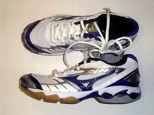 Mizuno Wave Bolt 2 Women's Volleyball Shoes NIB White/Royal Size 7.5