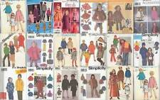Simplicity Sewing Pattern Childrens Outerwear Coats Capes Girls Boys U PICK