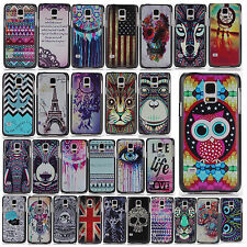 New Hot Fashion Pattern Hard Back PC Skin Case Cover For Samsung Galaxy S5 MINI