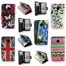 Wallet Cover Phone Case and Clear Screen Protector for Nokia Lumia 635