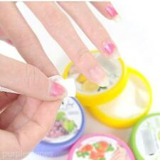 32pc Fruit Scented Nail Care Polish Remover Wet Paper Cleaning Towel Piece Sheet