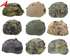 Tactical Military Airsoft Hunting Camo Helmet Cover for MICH TC-2002 ACH Helmet
