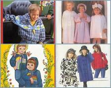 Childrens Coat Sewing Pattern  Childs Outerwear Coats Jacket Girls Boys You Pick