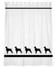 Brittany Dog Shower Curtain *Your Choice of Colors* - Original