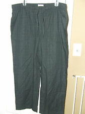 Comfortable Merona Men's Plaid Pajama Pants - Cotton + Polyester - Lite Weight