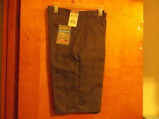 """NEW MEN'S DICKIES GRAY w/ CHECK DESIGN """"MULTI-POCKET WORK-RELAXED FIT""""  SHORTS"""