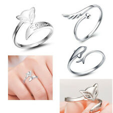 NEW silver ring finger fashion women lady Ring opening Adjustable jewelry GIFT