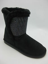 Summer Rio Bolaro Women's NEW BC5630 Short  Faux Suede Black Boots Sizes