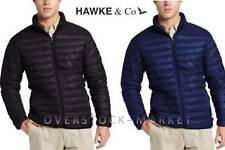 MEN'S HAWKE & CO. OUTFITTER QUILTED PACKABLE THERMAL-CORE INSULATED JACKET! MANY