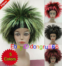 New Cosplay & Party Festival Wig with Head band WOMEN'S FULL WIG/Wig Cap