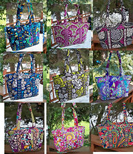 VERA BRADLEY Large Mandy Tote Bag Purse NEW Variety of Patterns Retail $70