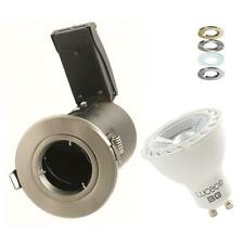 LED RECESSED CEILING SPOTLIGHT FIRE RATED LED DOWNLIGHT GU10 5W 7W DIMMABLE