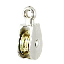 20mm Diameter Stainless Steel Single Sheave Fixed Eye Rope Pulley
