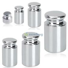 1g-500g Gram Chrome Calibration Weight for Digital Pocket Balance Scale Silver