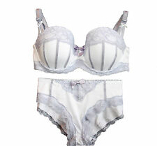 M&S underwire lace bra & brief set 30-38 A B C D DD   Briefs 6 8 10 12 14 16 18