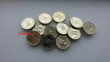 SELECTION OF SCARCE UNC 1983-1989 BAILIWICK OF JERSEY PARISH £1 ONE POUND COIN