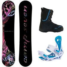 2014 Featherlite Women's Snowboard Package + Mystic Bindings + Theory Boots