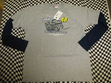 Jimmie Johnson #48 Lowe's Long Sleeve Chase T-shirt! Sizes M, L, XL, 2XL - 7414