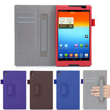 """For 8"""" Lenovo Tab S8 S8-50 Tablet Stylish Slim Faux Leather Stand Case Cover New"""