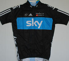 SKY BLACK TEAM CYCLING JERSEY BRAND NEW ***