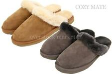 MENS COZY MATE 100% GENUINE AUSTRALIAN SHEARLING WOOL SLIPPERS INDOOR/OUTDOOR
