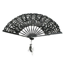 Vintage Handmade Lace Cotton Hand Fan Bridal Wedding Party Party Decoration G