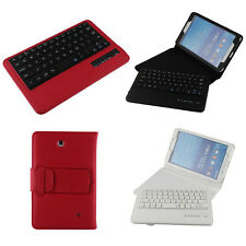 For Samsung Galaxy Tab 4 8.0 8-Inch Case with Bluetooth Keyboard Tablet Stand
