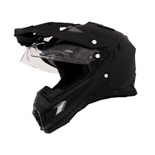 ONEAL 2014 Motocross Helm Sierra Adventure Flat Schwarz Motocross Enduro Cross