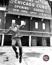 Ernie Banks Chicago Cubs Wrigley Field Photo KF216 (Select Size)
