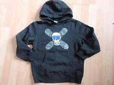 NWT BOYS GYMBOREE SZ 3-4, 5-6 BLACK HOODIE SNOWBOARD LEGEND