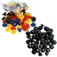Tattoo Rubber Grommets Nipples100 PCS for Tattoo Machine Needles Colorful/Black